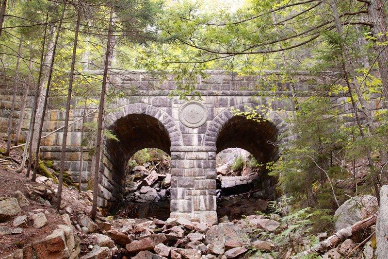 Carriage Road crossing 1925 Bridge.