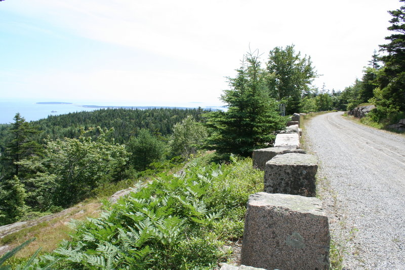 Carriage Road on Mt. Day.
