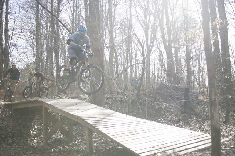 The Wooden Ramp.