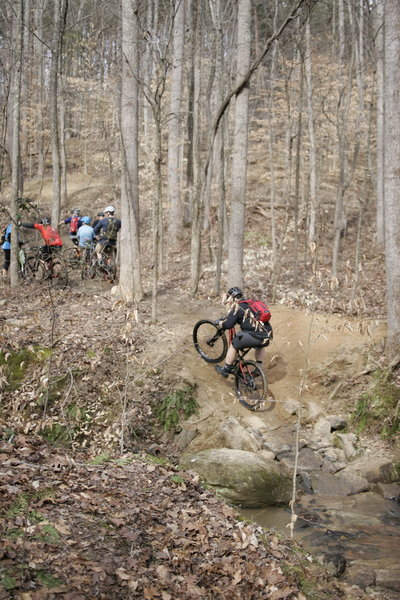 The Creek Climb.