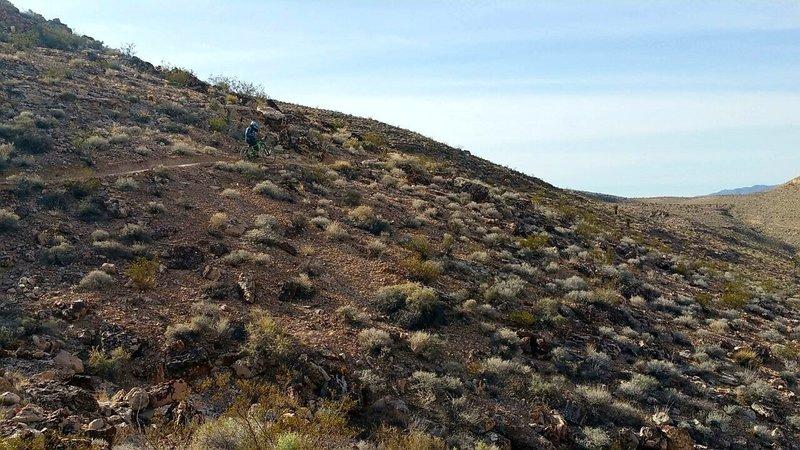 Climbing Perma Grin.
