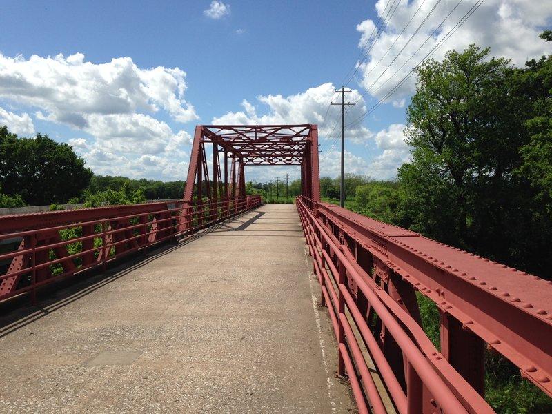 The Greenbelt Trail - Red Bridge