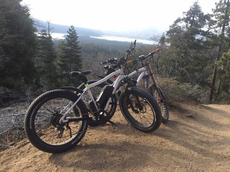 Stop for the view on this sweet singletrack with fun root and rock jumps and plenty of banked switchbacks. Must ride in Soc Cal!