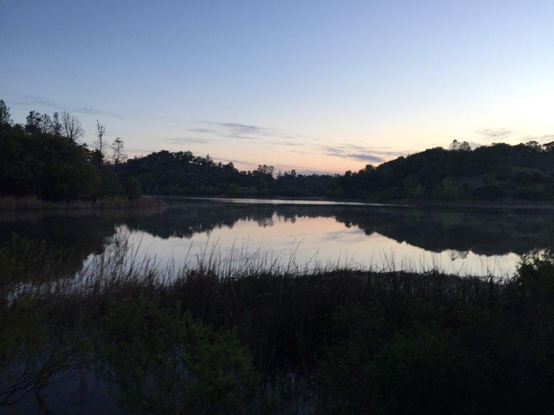 Sunrise at Mississippi Lake.