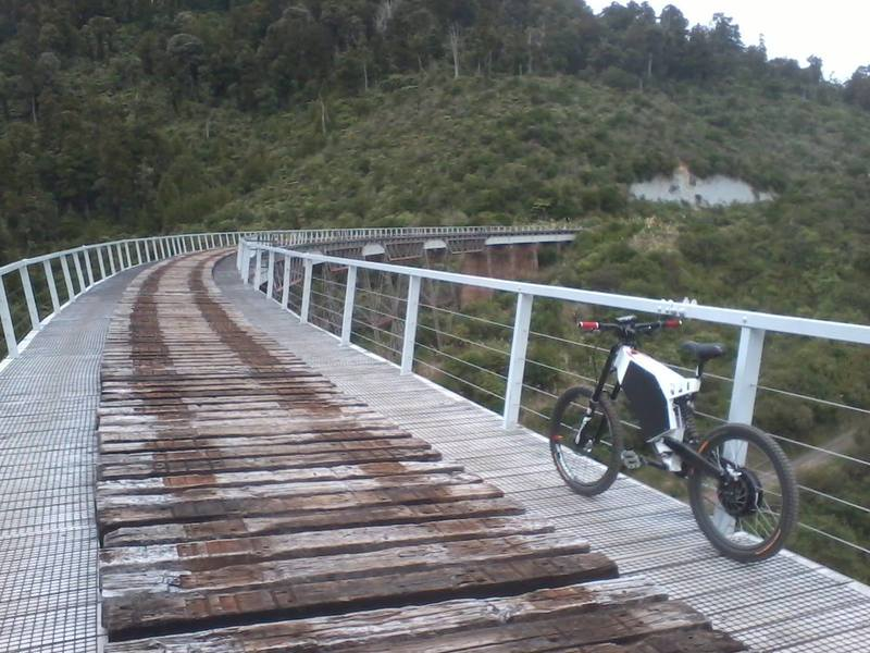 The majestic Hapuawhenua Viaduct on the Ohakune Old Coach Road.