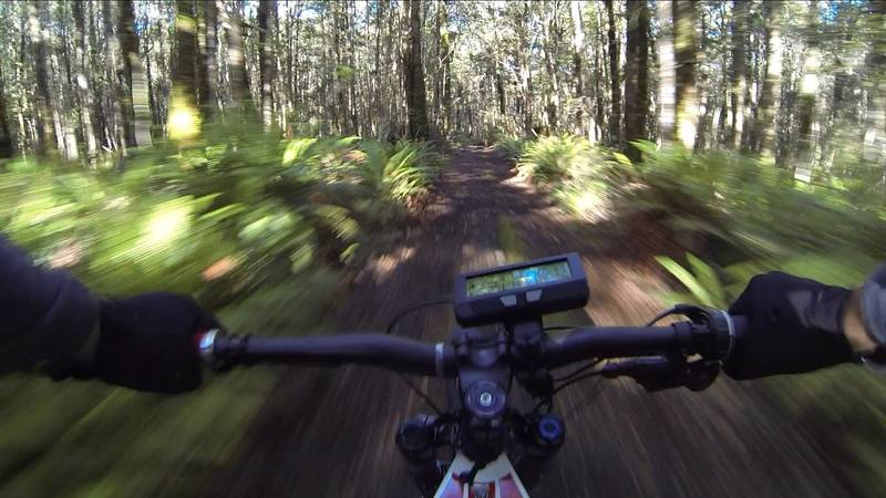 Magnificent scenery and awesome trails make North Track a local favourite.