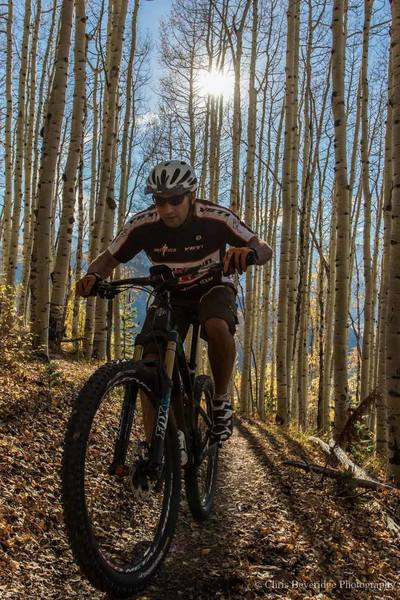 Riding through the Aspen trees is what dreams are made of.