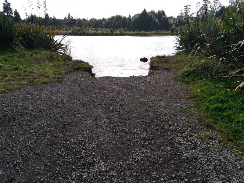 Fancy a swim? Lakes Reserve, Ohakune.