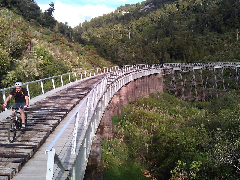 The Hapuawhenua Viaduct on the Ohakune Old Coach Road.