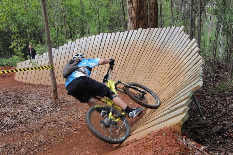 Second wall ride on Relentless Blue Pemberton Western Australia