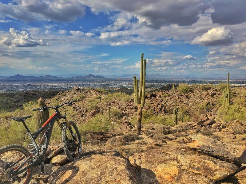 East national overlooking Phoenix below.