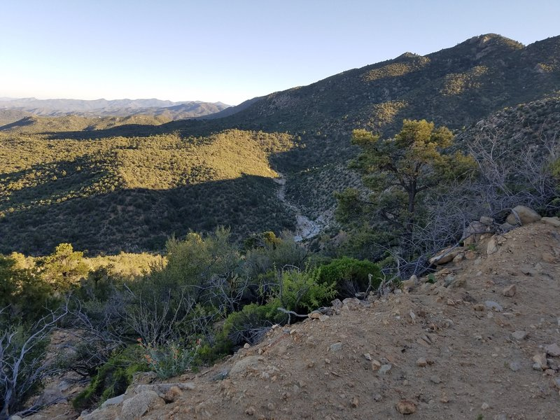 Almost to the top of Antelope Wash climb.