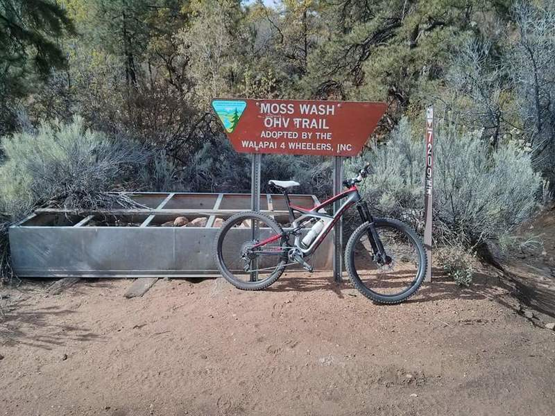 Moss Wash OHV by Wild Cow Campground