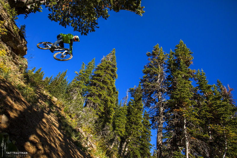 Dropping into summer in the Tetons! Grand Targhee summer opening is June 17, 2016