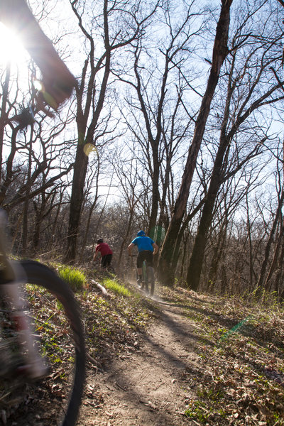 Bobcat Trail, Whiterock Conservancy, Coon Rapids, IA