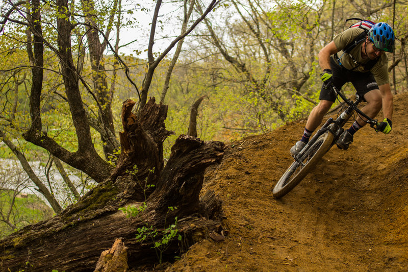Bermed Turn on Shooting Star Trail