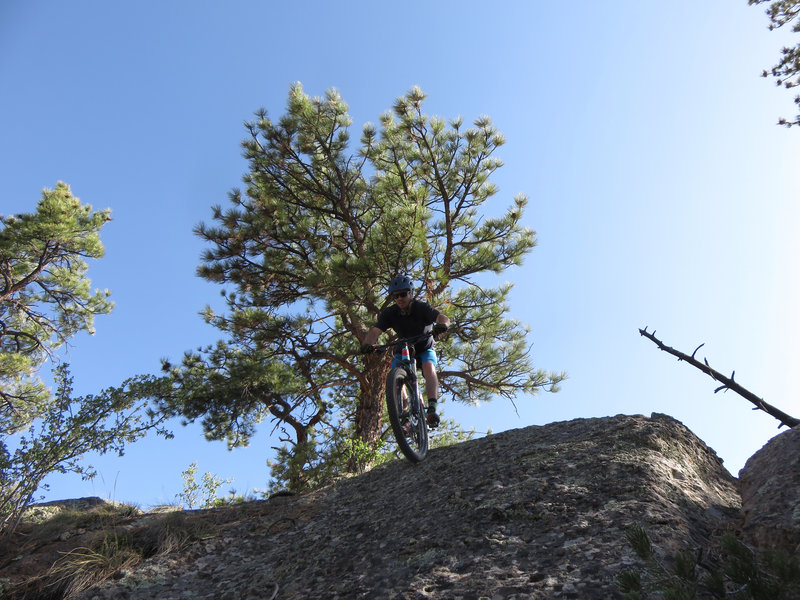 Another fun, steep roll at Bishop.