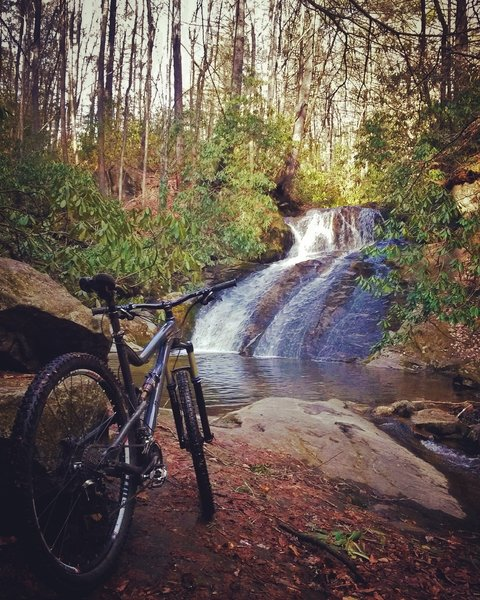 Waterfall on Thorps Creek.