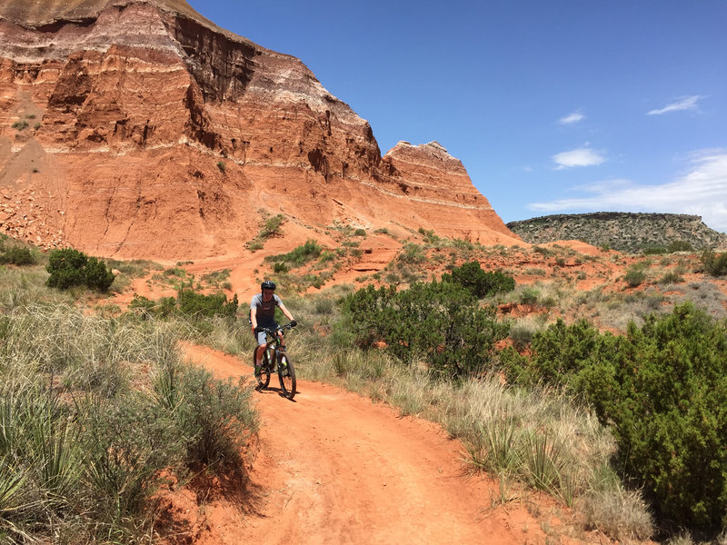 Givens, Spicer & Lowry Trail - Palo Duro Canyon State Park, TX.