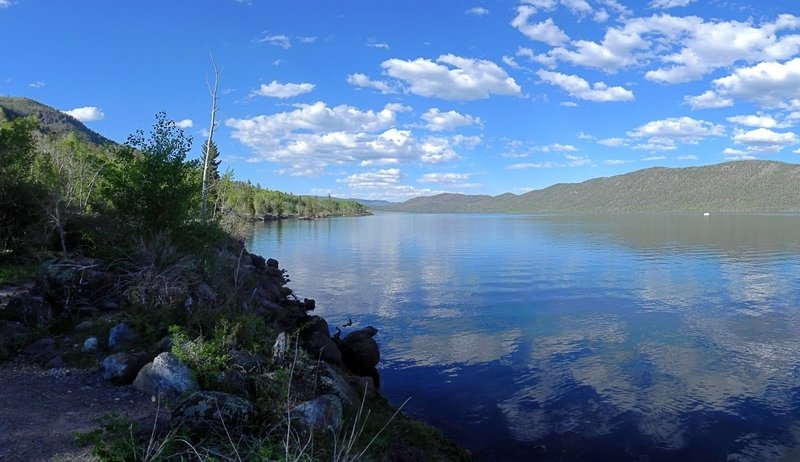 Fish Lake, Utah. with permission from HighDesertView
