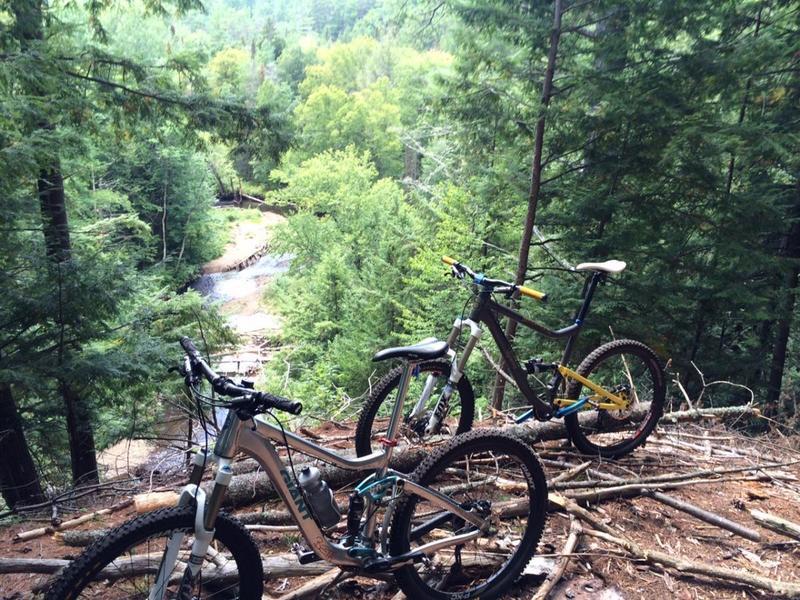 North Creek Overlook.