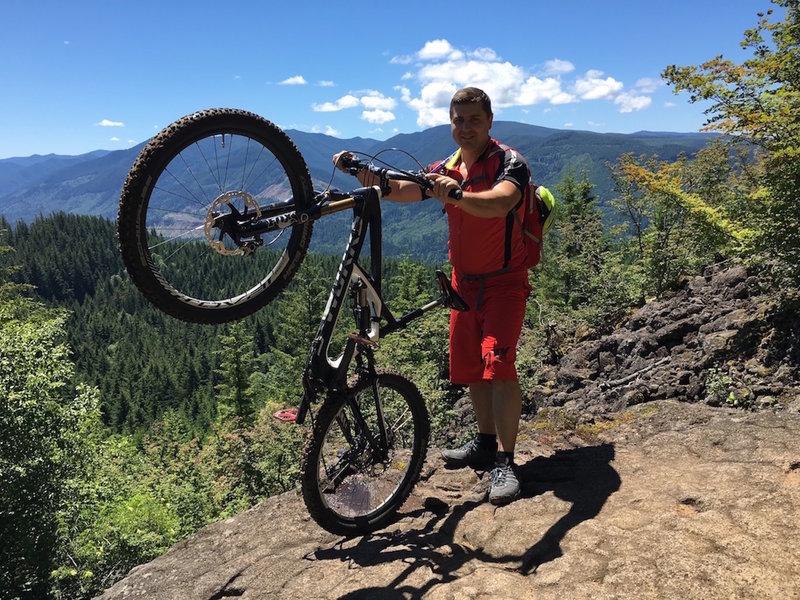 Sandy Ridge Trail.