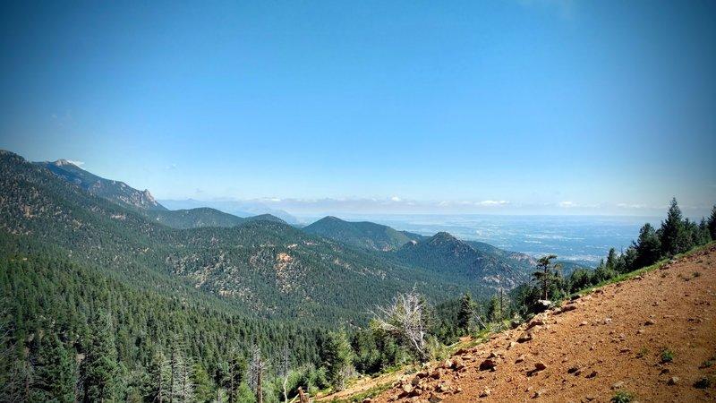 View of Colorado Springs.