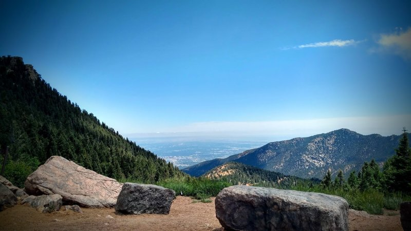 View of Colorado Springs.