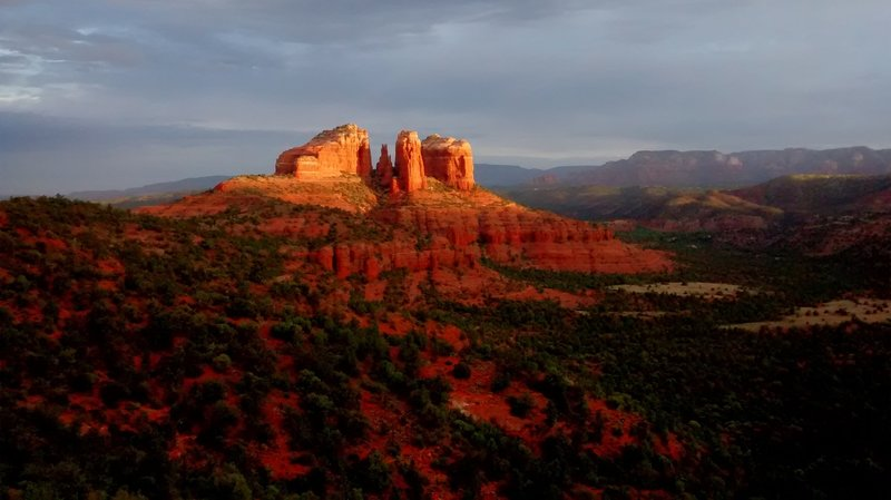Cathedral Rock from HiLine