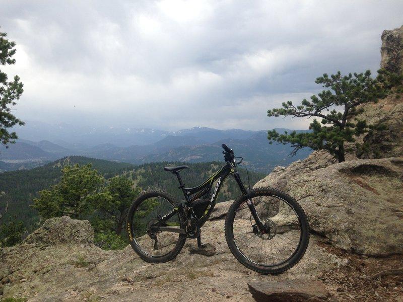 Summit view Crosier Mountain.