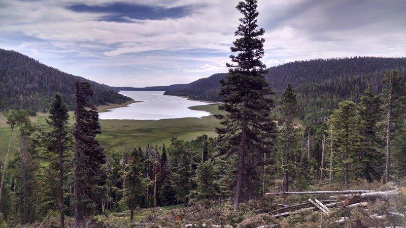 Navajo Lake looking east.