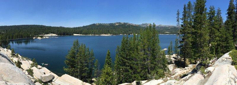 S/E shoreline of Lake Alpine, Bear Valley, Ca