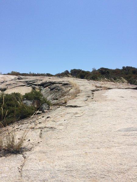 All rock trail.