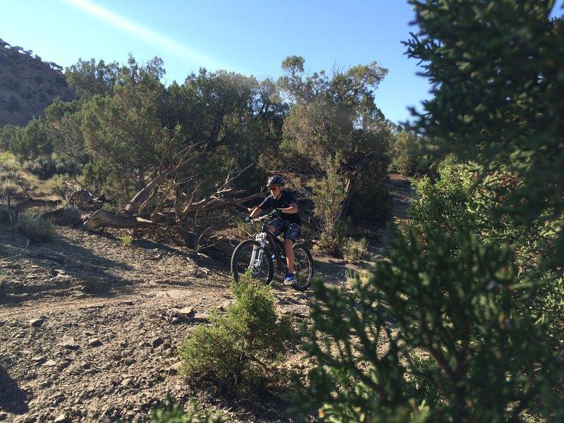 New rider Ethan blasting UUS