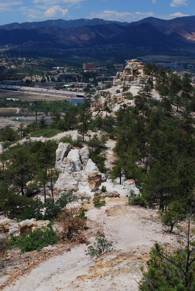 Pulpit Rock Ridge. with permission from coloradojak - Keep Panoramio Alive