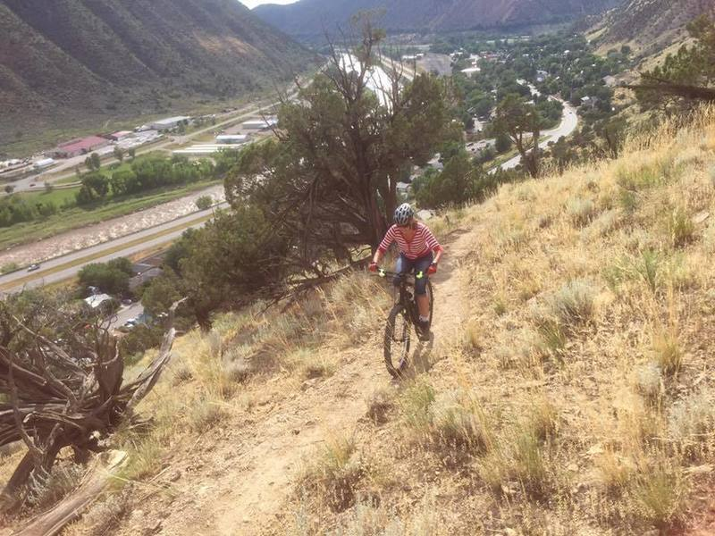 Most of the climbing on Prendergast Hill is moderate, with a few tough switchbacks thrown in.