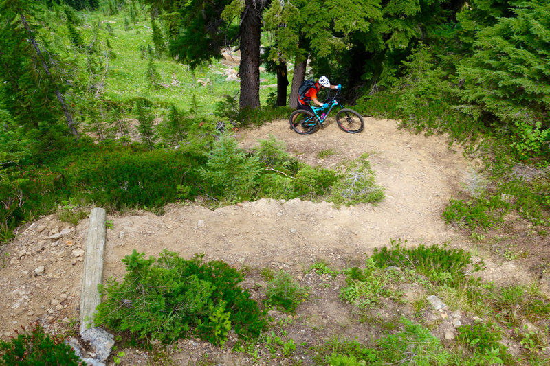 Pushing up to Chilcoot Pass.