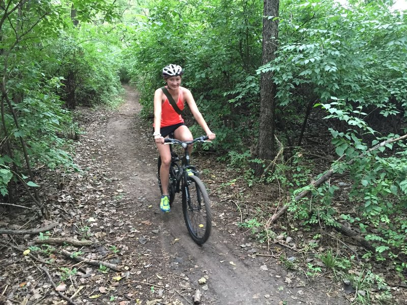 The YMCA trails are very well maintained.