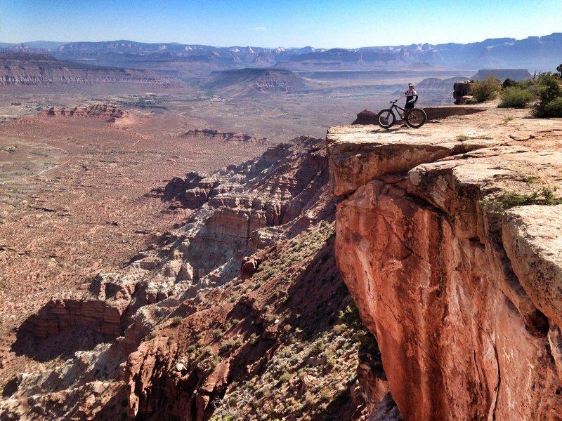 Unbelievable views on Gooseberry Mesa