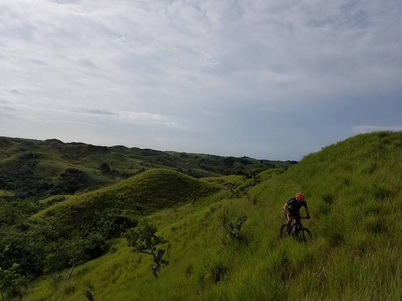 Endless hills on a SS.