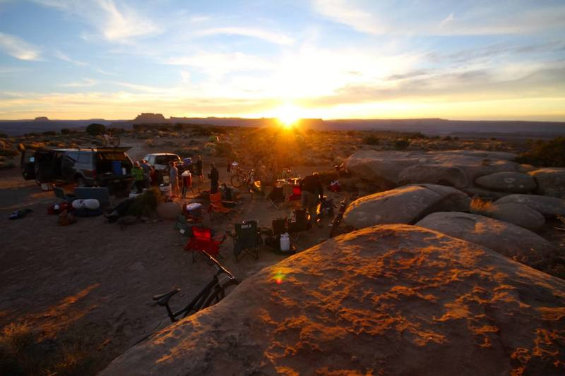 Night two of our three-day White Rim itinerary. My favorite campsite of the trip.