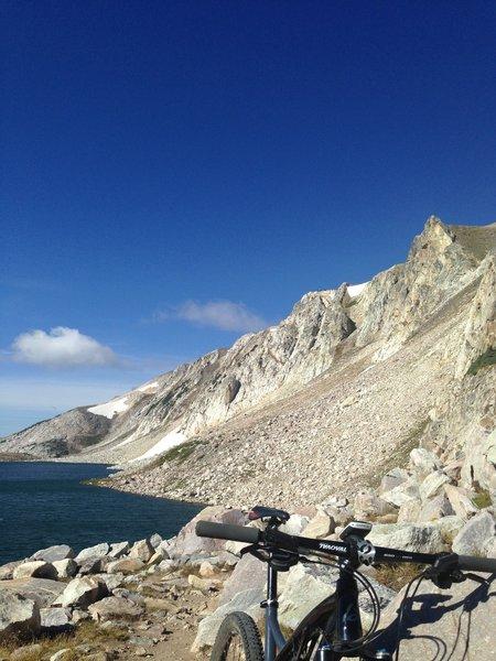 Gap Lake, Medicine Bow, WY.