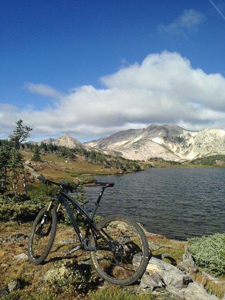 Sandy Lake, Medicine Bow, WY.