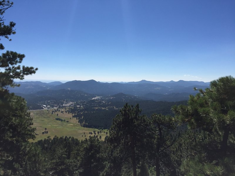A view of Elk Meadow.