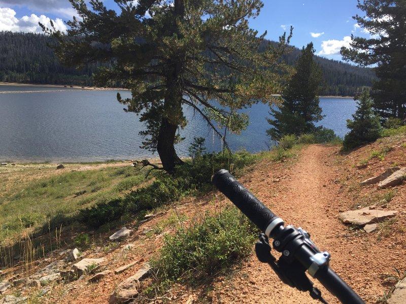 Navajo Lake Loop is a lot a fun.