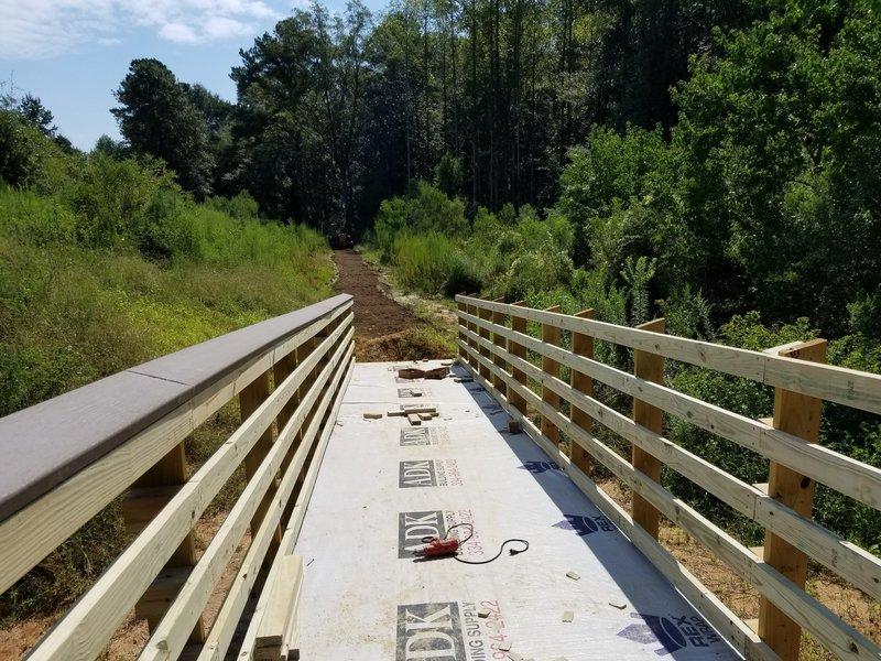 First boardwalk from Beaver Flats.