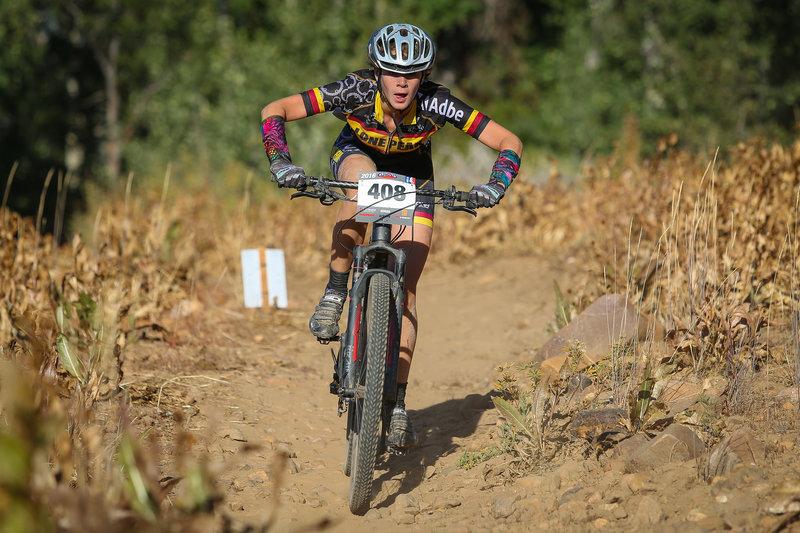 Utah High School Cycling League MTB race at Powder Mountain