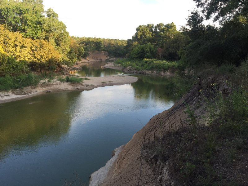 the good ole Trinity River.