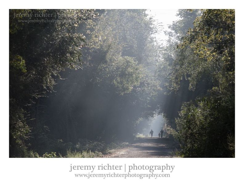 A great photo of the trail from Jeremy Richter!