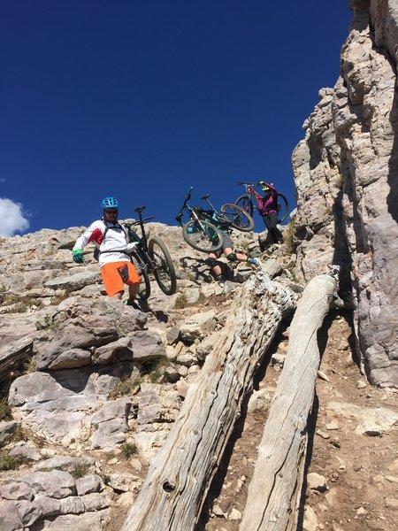 Hiking is the new Mountain Biking.